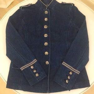 Ralph Lauren Denim Military Jacket